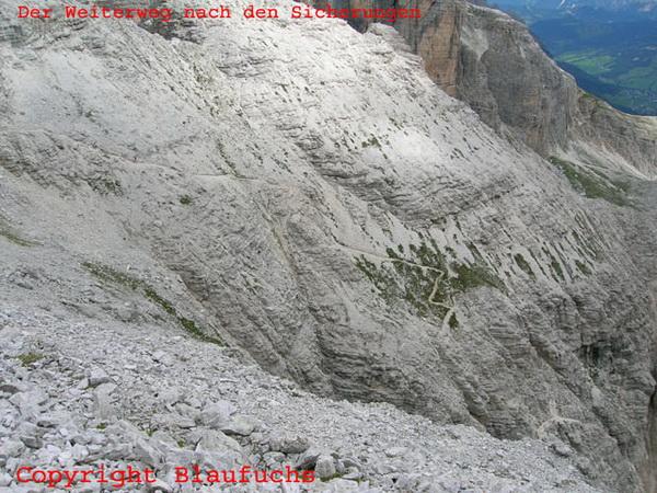 Klettersteig Piz Boe : Klettersteig beschreibung lichtenfelser weg