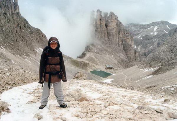 Klettersteig Rosengarten : Klettersteig.de klettersteig beschreibung santnerpass