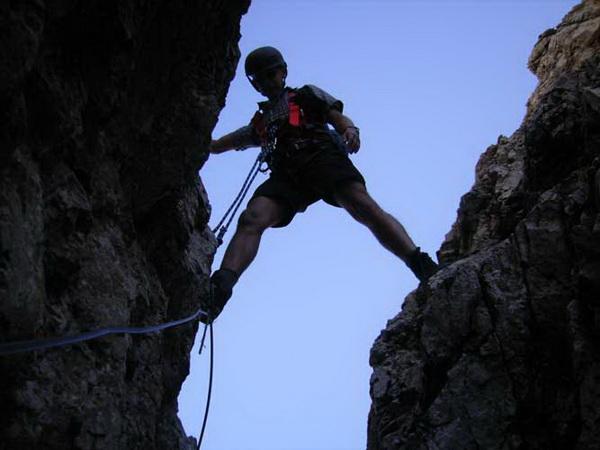 Klettersteig Magnifici Quattro : Laurenzi klettersteig