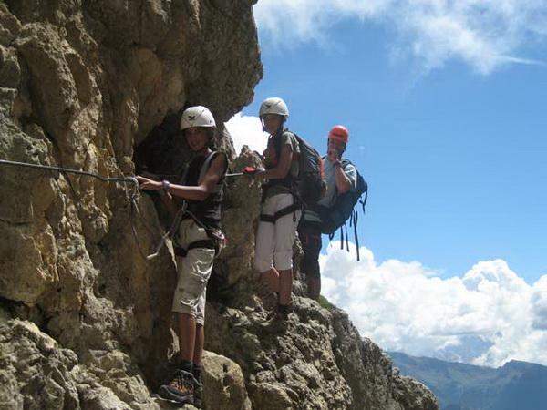 Klettersteig Magnifici Quattro : Klettersteig.de klettersteig beschreibung masare