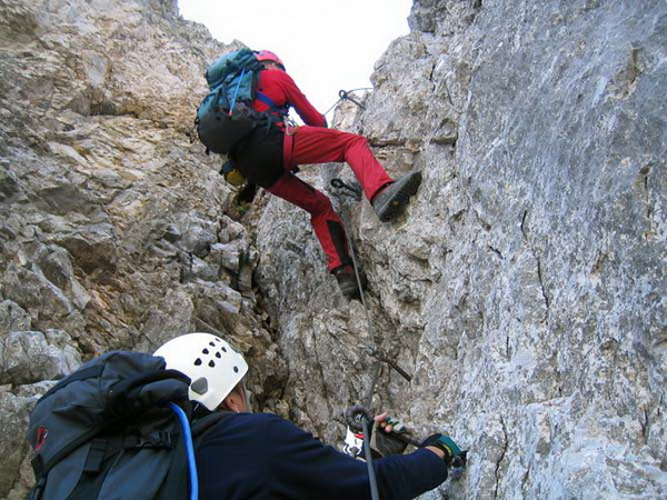Klettersteig Magnifici Quattro : Klettersteig.de klettersteig beschreibung kaiserjägersteig