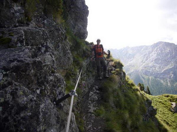 Klettersteig Magnifici Quattro : Klettersteig.de klettersteig beschreibung lino pederiva