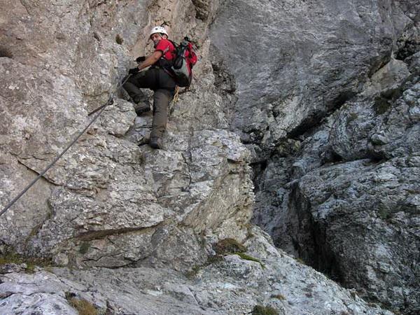 Klettersteig Magnifici Quattro : Klettersteig.de klettersteig beschreibung franco