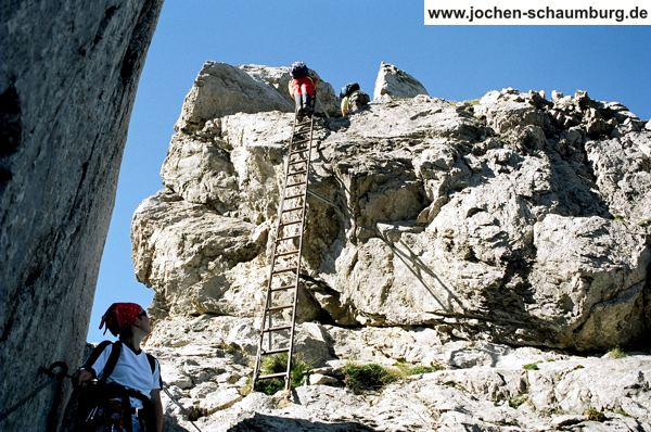 Klettersteig Hindelang : Klettersteig beschreibung hindelanger