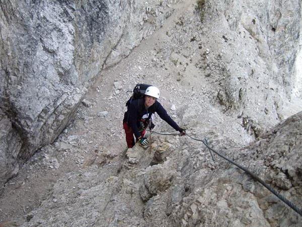 Klettersteig Drei Zinnen : Klettersteig beschreibung innerkofler de luca