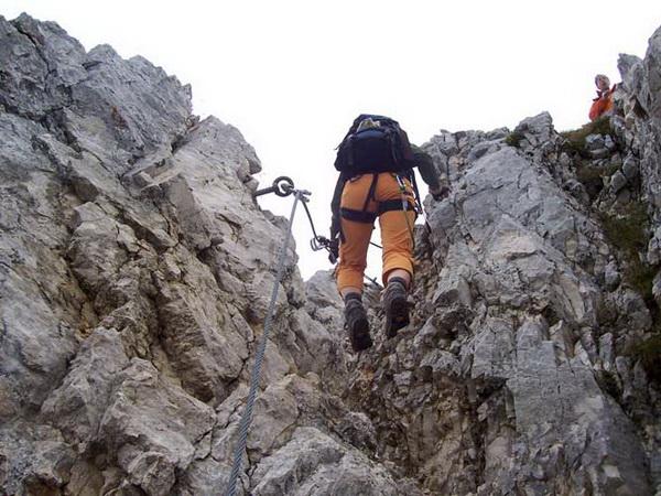 Friedberger Klettersteig : Klettersteig beschreibung friedberger