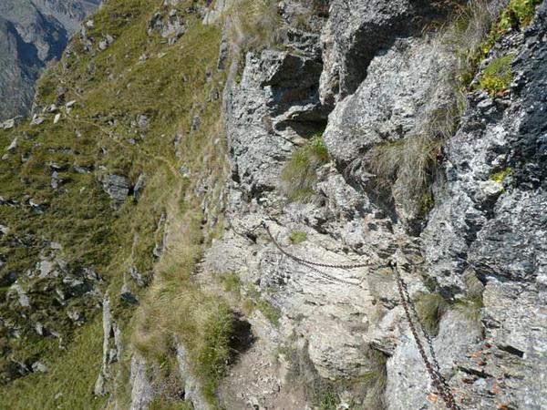 Klettersteig Meran : Klettersteig.de klettersteig beschreibung franz huber steig