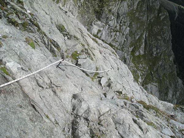 Klettersteig Ifinger : Klettersteig beschreibung ifingersteig