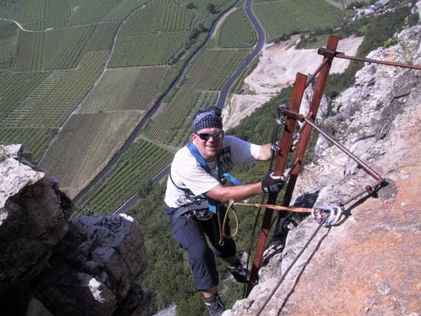 Klettersteig Norddeutschland : Klettersteig.de klettersteig beschreibung fennberg