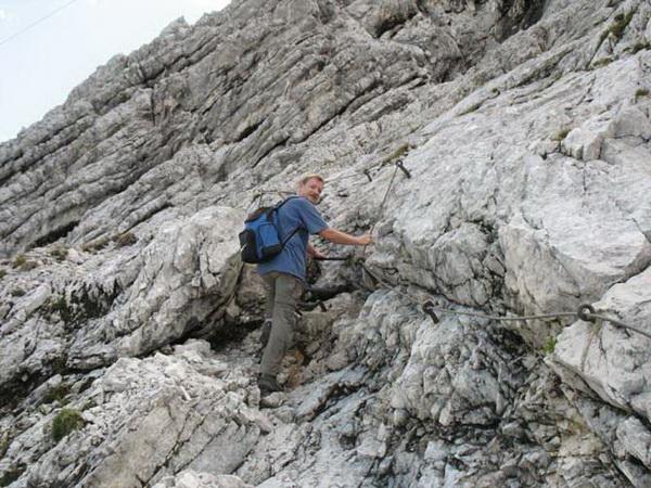 Klettersteig Alpspitze : Klettersteig beschreibung nordwandsteig