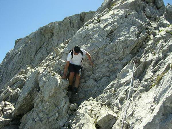 Klettersteig Uri : Klettersteig.de klettersteig beschreibung kaiserstock