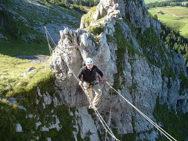 Klettersteig Switzerland : Klettersteig beschreibung brunnistöckli