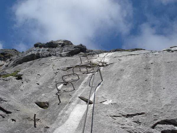 Klettersteig Tälli : Klettersteig.de klettersteig beschreibung fürenwand