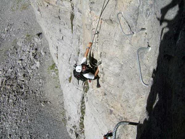 Klettersteig Graustock : Klettersteig beschreibung jochpass graustock