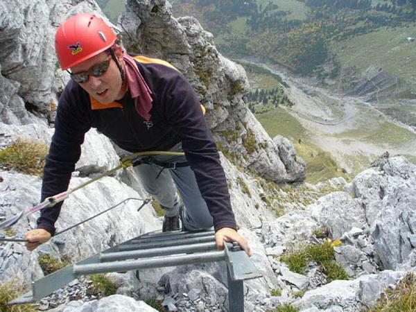 Klettersteig Franken : Klettersteig.de klettersteig beschreibung tälli