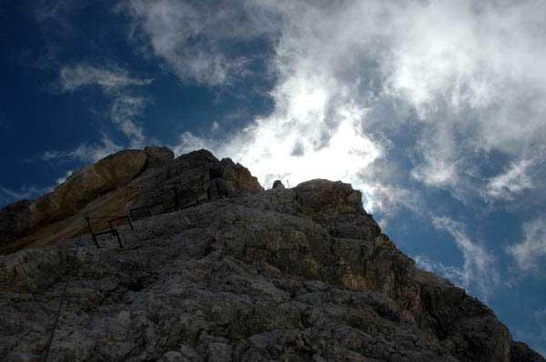 Jubiläumsgrat Klettersteigset : Klettersteig beschreibung jubiläumsgrat