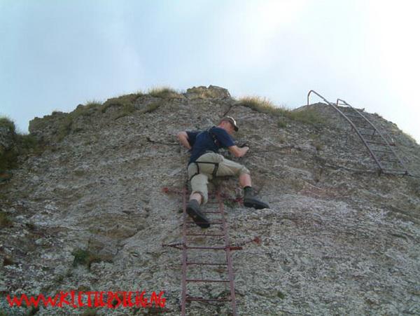 Klettersteig Niveaus : Klettersteig beschreibung angelino