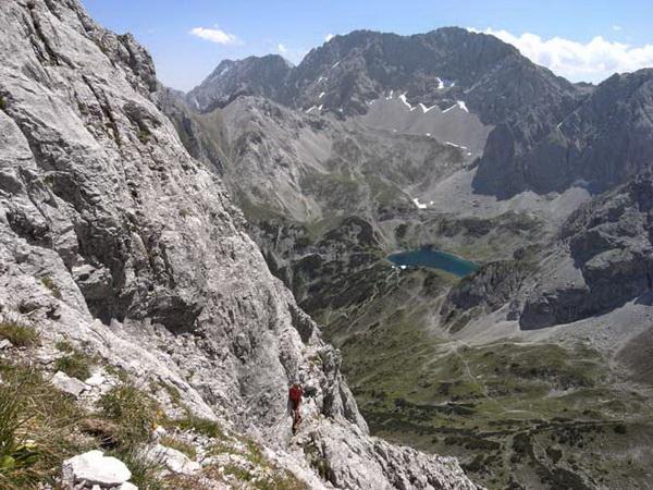 Klettersteig Coburger Hütte : Klettersteig beschreibung südanstieg auf die